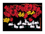 Rabbits Giclee Print
