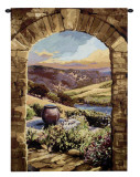 Tuscan Afternoon Wall Tapestry by Brad Simpson