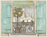 French Shutters II Posters by Stefania Ferri