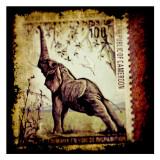 Elephant Stamp Print by Jean-François Dupuis