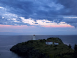 Evening Falls over Swallowtail Lighthouse on Grand Manan Island Photographic Print by Richard Olsenius