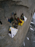 Wall Camp at an Elevation of 4000 Feet on the Face of Great Sail Peak Photographic Print by Gordon Wiltsie