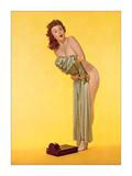 Pin Up and Scale Giclee Print