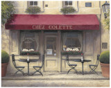 Chez Colette Print by James Wiens