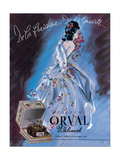 Parfum Orval Molinard Giclee Print by Massa