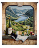 Rhine Wine Moment Wall Tapestry by Barbara R. Felisky