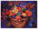 Fruit Harvest Poster by Wendy Hoile