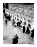 Grand Central Station, new York City, c.1930 Poster