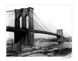 Brooklyn Bridge, New York, c.1905 Posters