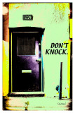 Don't Knock Posters by Pascal Normand