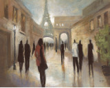 Paris Figures Prints by Marc Taylor
