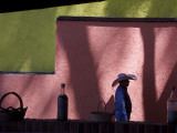 A Street Scene in Colorful Angangueo Photographic Print by Annie Griffiths
