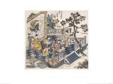 Li Bai Writing Poems Giclee Print by Li Bai xie Shi