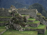 Inca Stone Terraces and Staircases at Machu Picchu Photographic Print by Martin Gray