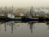 Fishing Boats at Rest During the Off Season Photographic Print by Richard Olsenius