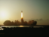 A Remote Camera Captures the Space Shuttle Columbia's Spectacular Liftoff Photographic Print by Jon T. Schneeberger