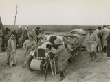 Citroen-Haardt Expedition Filming in Iraq Photographic Print by Maynard Owen Williams