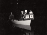 George Shiras Photographs Wildlife in Natural Environments at Night Photographic Print by George Shiras