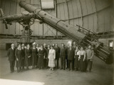 Albert Einstein and the Staff of Yerkes Observatory Photographic Print by  Yerkes Observatory