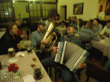 Men Sing Satirical Songs of Austria's Erstwhile Control over Czechs Photographic Print by James L. Stanfield