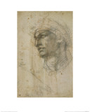Head of Youth Giclee Print by  Michelangelo