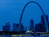 The Gateway Arch National Historic Site in St Louis Photographic Print by Medford Taylor