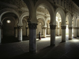 The Moorish Arched Interior of a Synagogue Converted to a Church Photographic Print by James P. Blair