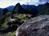 A View of the Inca City of Machu Picchu Fotografie-Druck von Pablo Corral Vega