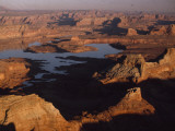The Waters of Man-Made Lake Powell Rise in Glen Canyon Photographic Print by Walter Meayers Edwards