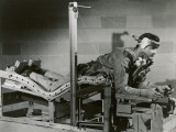 Researcher Tests a Pilot's Bed Photographic Print by  U.S. Gov'T Airforce