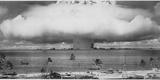 U.S. Gov'T Navy - Underwater Atomic Bomb Test at Bikini Atoll in 1946 Fotografická reprodukce