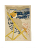 La Passagère Du 54; Promenade En Yacht 1895 Lámina giclée por Henri de Toulouse-Lautrec