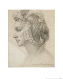Ideal Head of a Woman Giclee Print by  Michelangelo