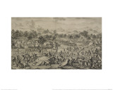 The Battle at Oroï-Jalatu Giclee Print by Jacques-Philippe Le Bas