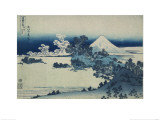 Shichiri Beach in Sagami Province, Katsushika Hokusai, Japan, Edo Period 1830-1833 Gicl&#233;e-Druck von Katsushika Hokusai