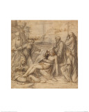 Lamentation Giclee Print by Andrea Solario