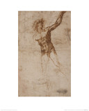 A Youth Beckoning Giclee Print by  Michelangelo