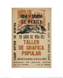 Life and Drama of Mexico: 20 Yrs in the Life of the Taller De Grafica Popular Giclee Print by Alberto Beltran