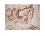 Study for Adam Giclee Print by  Michelangelo