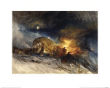Messieurs Les Voyageurs on their Return from Italy Giclee Print by J. M. W. Turner