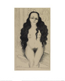 Nude with Long Hair (Dolores Olmedo), 1930 Giclee Print by Diego Rivera