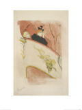 La Loge Au Mascaron Doré 1893 Lámina giclée por Henri de Toulouse-Lautrec