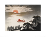 Sunrise at South Lake Giclee Print by Shi Handing