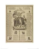 Calavera Tapatia Giclee Print by Antonio Vanegas Arroyo