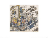 Li Bai Writing Poems Giclee Print by Li Bai xie Shi