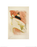 La Loge Au Mascaron Dor&#233; 1893 Giclee Print by Henri de Toulouse-Lautrec