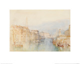 Venice, the Grand Canal, Looking Towards the Dogana Giclee Print by J. M. W. Turner