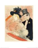 Au Concert Lámina giclée por Henri de Toulouse-Lautrec