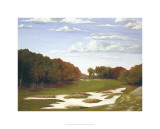 Late Season at Bethpage Black Premium Giclee Print by Michael G. Miller