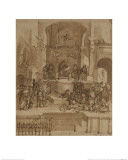 Triumph of St Thomas Aquinas Giclee Print by Filippino Lippi